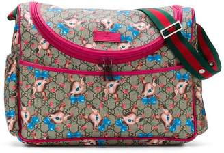 Gucci Kids GG Fawns changing bag