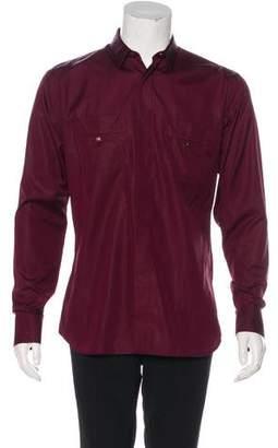 Christian Dior Woven Dress Shirt