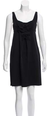 Diane von Furstenberg Bow-Accented Shift Dress