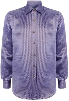 Stefano Ricci Silk Floral Shirt
