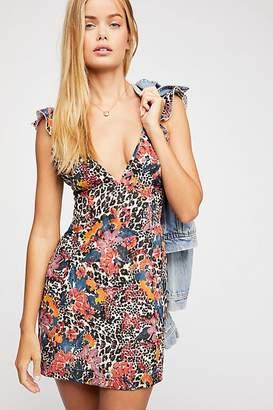 Josie Deep V Mini Dress