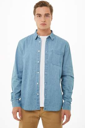 Forever 21 Classic Chambray Shirt