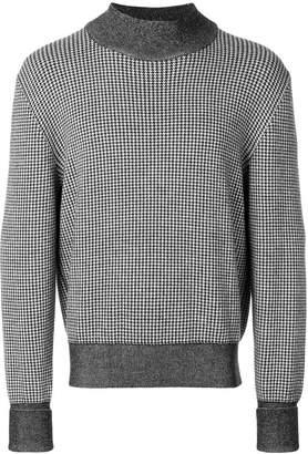 Études houndstooth sweater