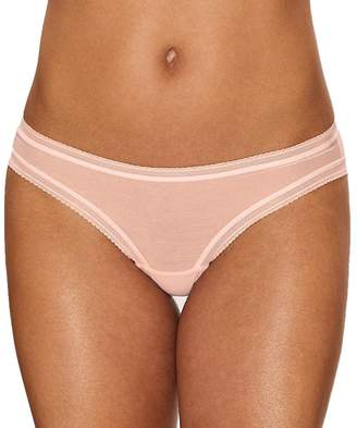 OnGossamer Women's Cotton Mesh Bikini Panty