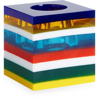 Jonathan Adler Bel Air Stacked Acrylic Mini Scoop Vase