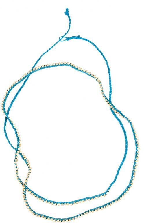 Shashi Golden Nugget Necklace in many colors