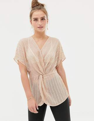 New Look Embellished Blouse