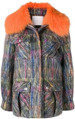 Giada Benincasa textured overshirt jacket
