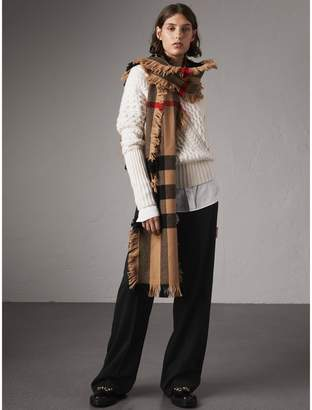 Burberry Wool Wide-leg Trousers