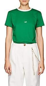 """Helmut Lang Women's """"Taxi"""" Cotton T-Shirt - Green"""