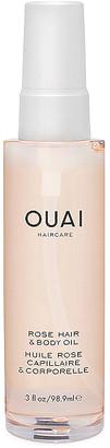 OUAI Rose Hair & Body Oil. $32 thestylecure.com