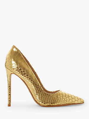 Dune Banksy Stiletto Heel Court Shoes