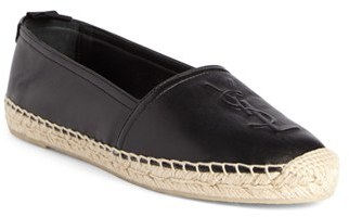 Women's Saint Laurent Logo Espadrille