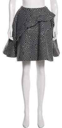 Kenzo Printed A-Line Skirt