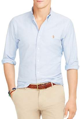Polo Ralph Lauren Slim-Fit Stretch-Oxford Shirt $98.50 thestylecure.com