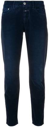 Closed corduroy skinny trousers