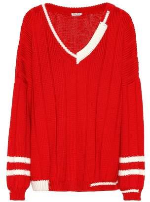 Miu Miu Knitted wool sweater