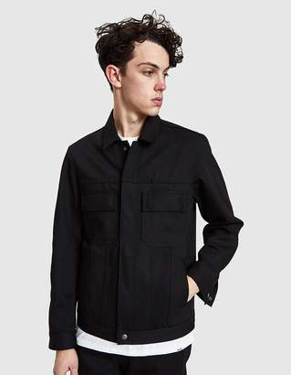 Rgt.A Black Denim Cruiser Jacket