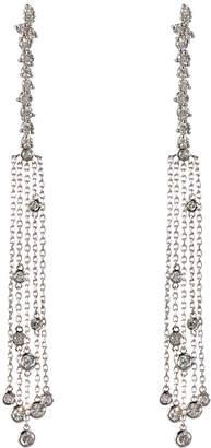 Neiman Marcus Diamonds 14k Five-Strand Floating Diamond Dangle Earrings