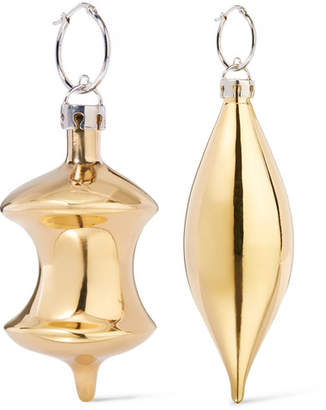 December Gold-tone Earrings - one size