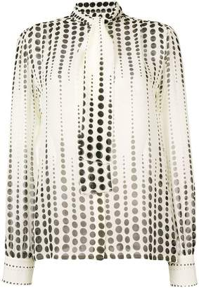 Giambattista Valli dotted blouse