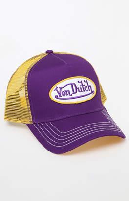 Von Dutch 208 Two-Tone Snapback Trucker Hat