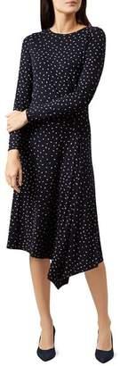 Hobbs London Carmen Asymmetric Dress