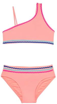 Gossip Girl Malibu Stripe Two-Piece Swimsuit