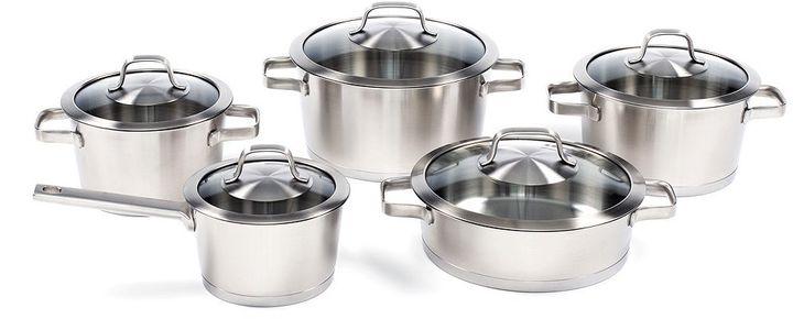 Berghoff Manhattan 10-pc. Stainless Steel Cookware Set