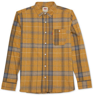 Levi's Men Plaid Shirt