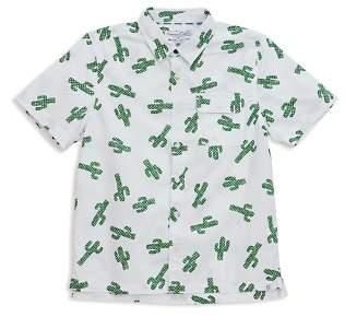 Sovereign Code Boys' Cactus-Print Button-Down - Little Kid, Big Kid