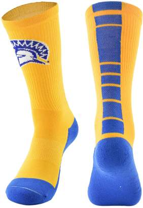 Women's Mojo San Jose State Spartans Champ 1/2-Cushion Performance Crew Socks