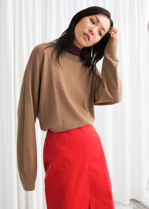 And other stories Oversized Soft Knit Sweater