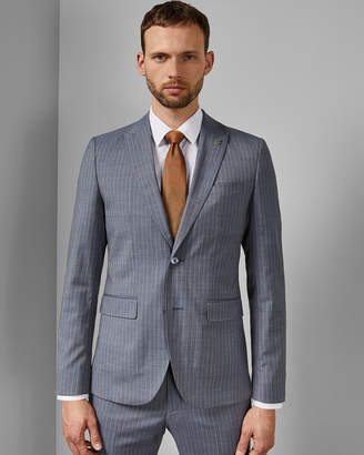 Ted Baker GULLJ Debonair stripe wool suit jacket