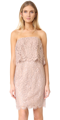 BB Dakota R.S.V.P by BB Dakota Sakura Strapless Lace Dress $225 thestylecure.com