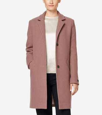 Cole Haan Classic Double Faced Wool Jacket