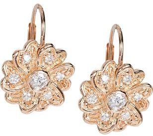 Jamie Wolf Pave Flower Earrings