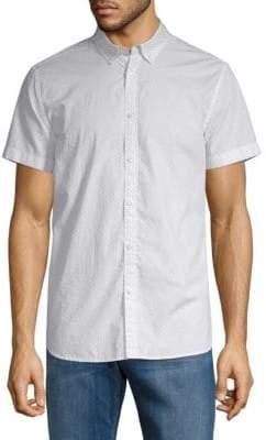 Calvin Klein Jeans Modern-Fit Micro-Dot Shirt