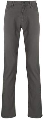 Emporio Armani classic flat front trousers