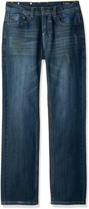 Buffalo David Bitton by David Bitton Big Boys' Evan-X Slim Fit Denim Jeans with Stretch