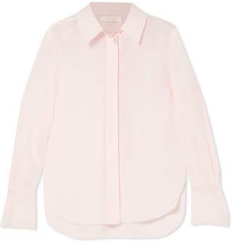 Chloé Silk Crepe De Chine Blouse - Pink