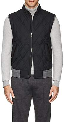 Ermenegildo Zegna Men's Down-Quilted Trofeo® Wool Vest