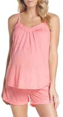 Belabumbum Summer Maternity/Nursing Short Pajamas