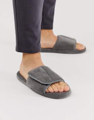 Asos Design DESIGN slider slippers in grey