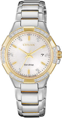 Citizen Dress Two Tone Watch EW2464-55A