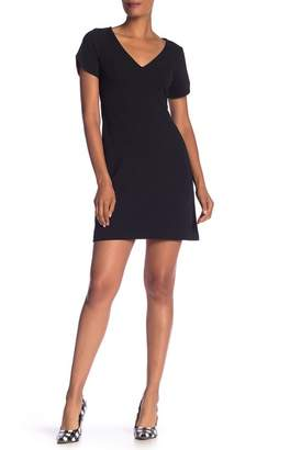 Betsey Johnson V-Neck Shift Dress