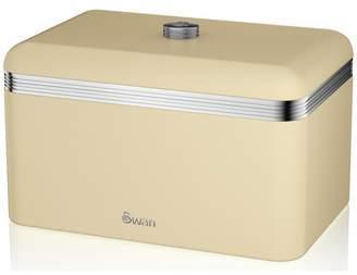Swan Breadbin - Cream