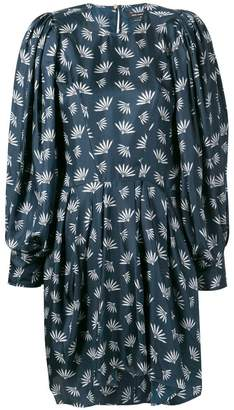Isabel Marant wheat fan print dress