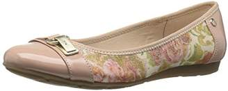 Anne Klein AK Sport Women's ABLE Fabric Ballet Flat