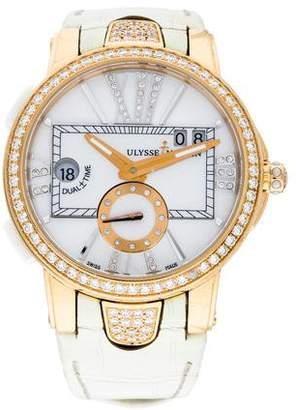 Ulysse Nardin Executive Dual Time Lady Watch